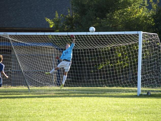 On the MVHS Soccer Team: Camden Donovan