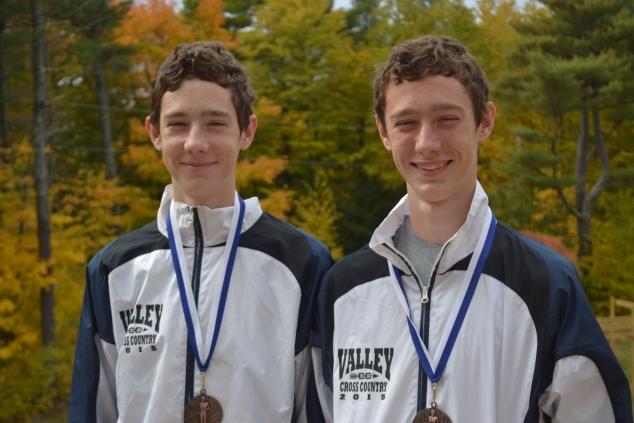 Matt and David Reynolds Running Strong for MVHS Cross Country