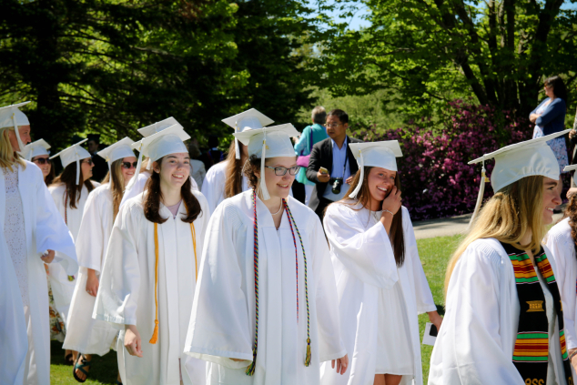 Andover Residents Honored at Proctor Academy's 169th Commencement