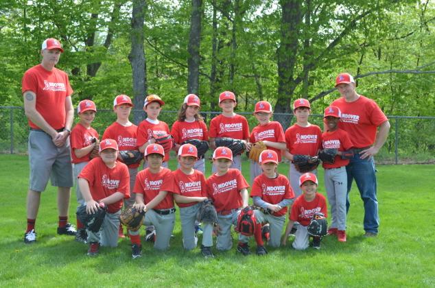 Andover Minors Baseball Team
