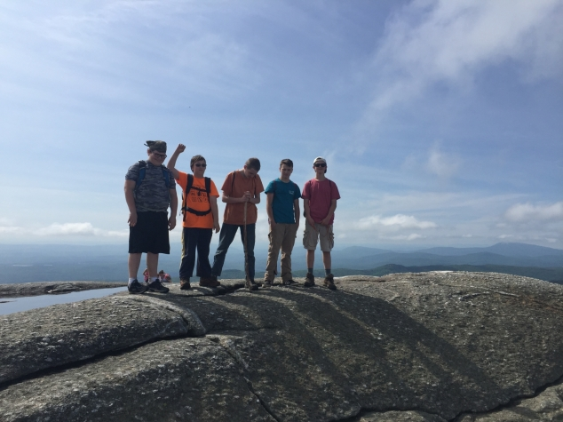 Andover Boy Scouts Stay Busy all Summer