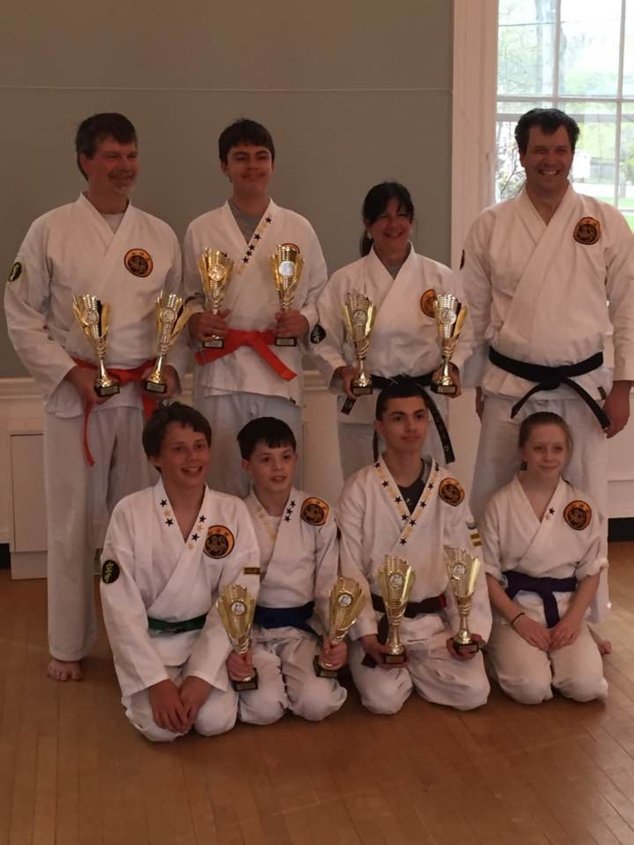 Local Martial Artists Compete in Tournament