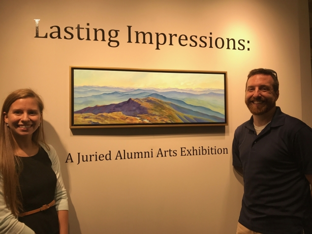 Lasting Impressions: A Juried Alumni Arts Exhibition features AEMS artists