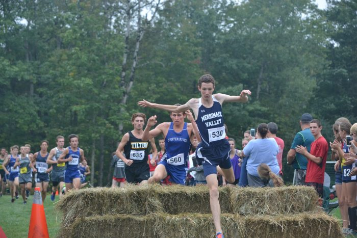 Andover's David Reynolds Takes 1st with Matthew Reynolds 10th in Bobcat Invitational Cross Country Race