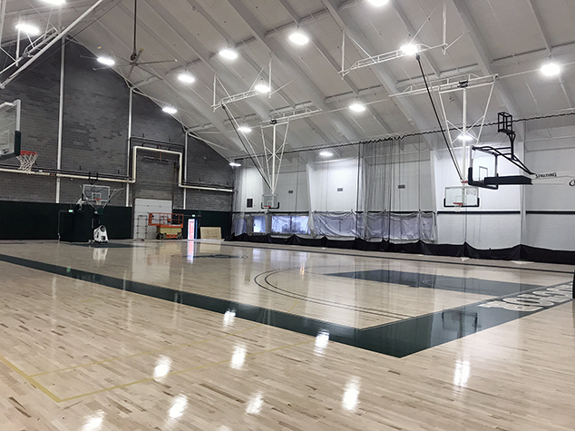 Proctor's New Gymnasium and Fitness Center Open
