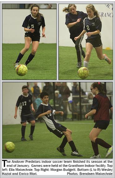 Andover Indoor Soccer Team Finsihes Season
