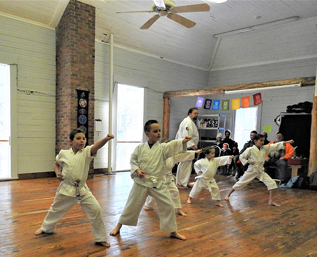 Karate Comes to Andover