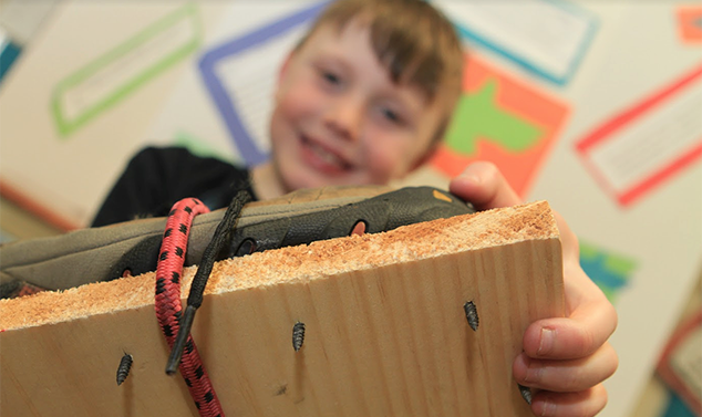 AE/MS Third Grade Showcases Ingenuity at Invention Convention