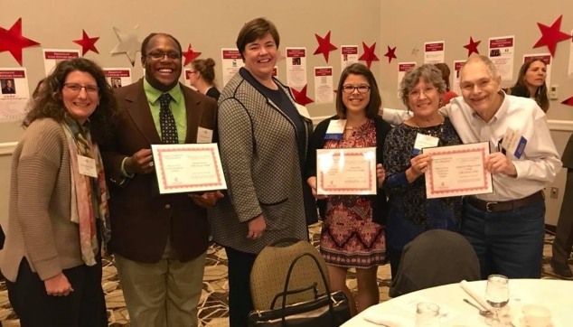 Community Recognized for Service at Campus Compact Awards Ceremony at CSC