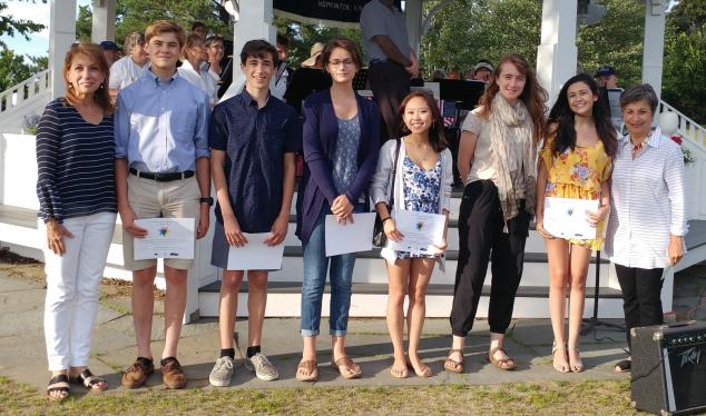 2018 Scholarship Winners from the Lake Sunapee Region.