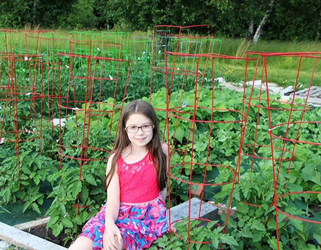 10 Year Old Andover Resident Raises Food for Needy