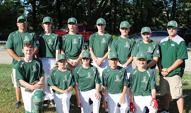 Andover Babe Ruth Team Grateful to Proctor Academy