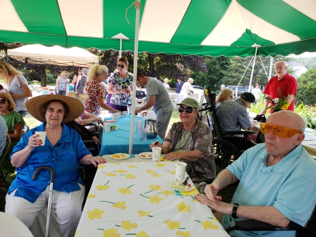 Annual Garden Party at Peabody Home in Franklin
