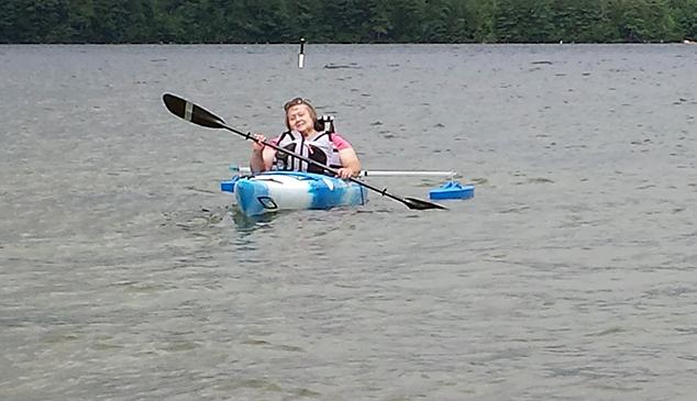 WHIM Group Goes Kayaking