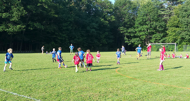Andover Recreation Fall Soccer Underway