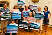 """""""Paint & Sip"""" Returns to the  Andover Hub"""