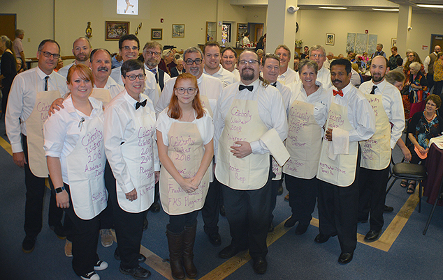 "Franklin Opera House ""Celebrity Waiter Dinner"" is Great Success"