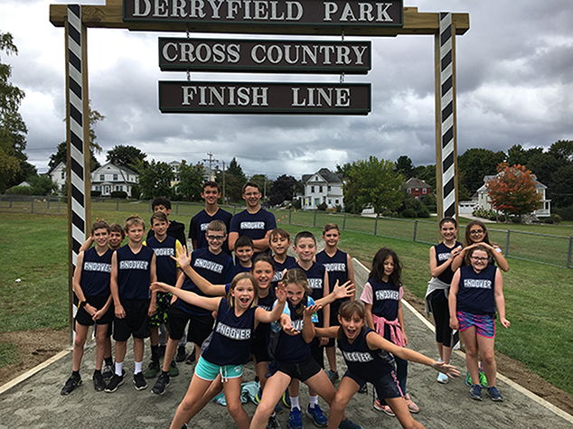 Andover Middle School Cross Country at Manchester Invitational