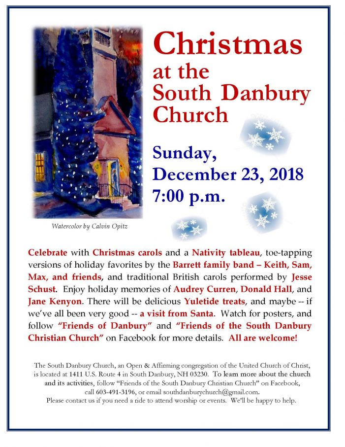 Christmas at South Danbury Christian Church