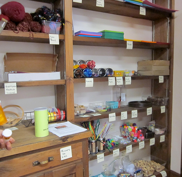 Hub Closet Open  First Saturday of Each Month