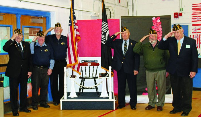 American Legion Post Presents POW-MIA Memorial at AE/MS