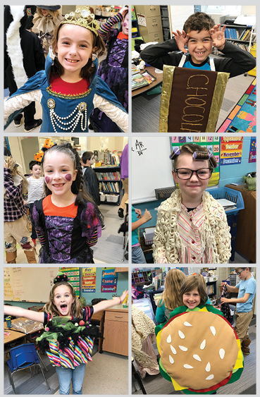 AE/MS Second Grade Creates  and Performs Halloween Play