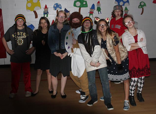 AE/MS Students Enjoy Halloween Dance