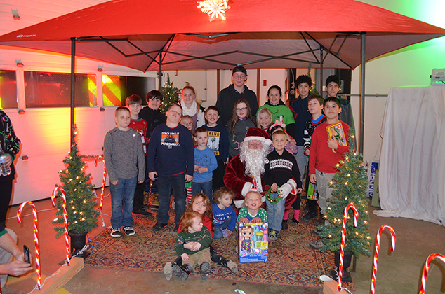Andover Emergency Services Celebrated Christmas in Style