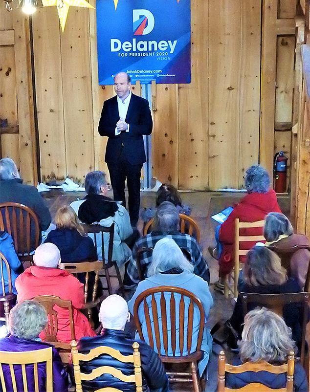 John K Delaney, 2020 Presidential Candidate Visits