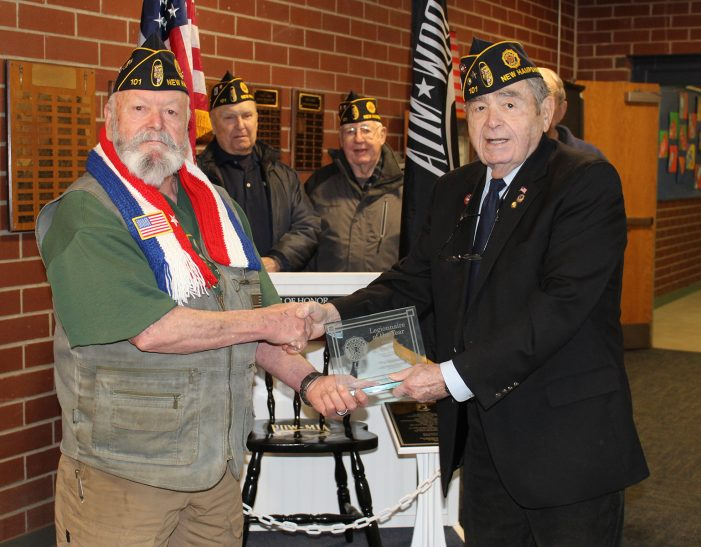 Clendenan Named Legionnaire of the Year
