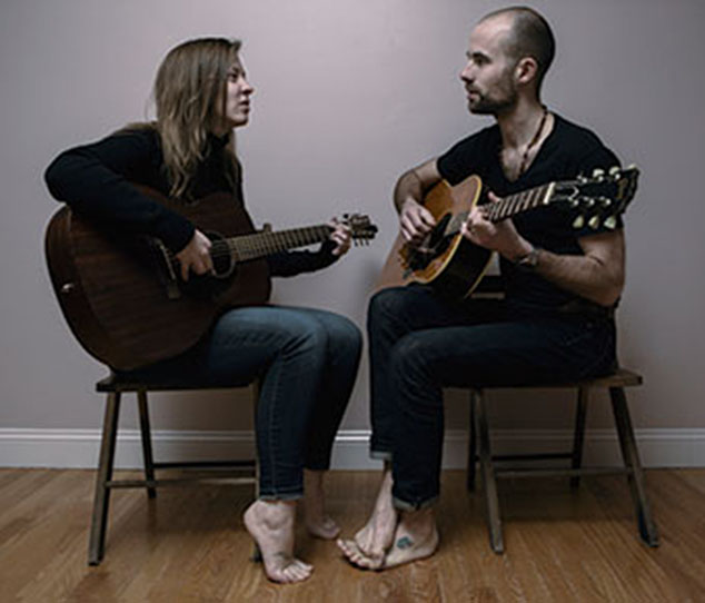 Singer Songwriter Duo Coming to Andover Coffeehouse in April