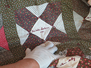 Signature Quilts of Wilmot Historical Society