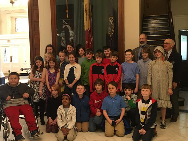 4th Grade NH State House Visit