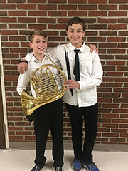 AE/MS Band Students Participate in NH Music Festival