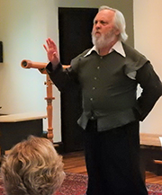 "Galileo Galilei ""The Starry Messenger"" Draws A Crowd In Andover"