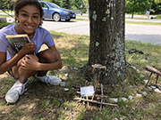 Fairy Houses Constructed at Andover Library