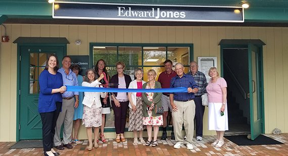 Grand Opening of Edward Jones Office in New London