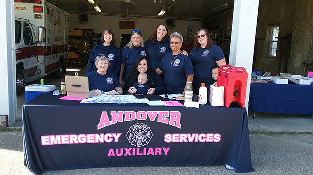 Andover Emergency Services Auxiliary Town Wide Yard Sale