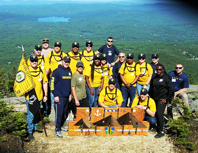 USS Kearsarge Crew Annual Pilgrimage to Warner