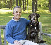 A Devoted Dog's Advancing Blindness Provides Life Lessons on Aging Gracefully.