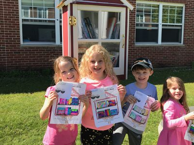 First Graders Complete Summer Reading Challenge