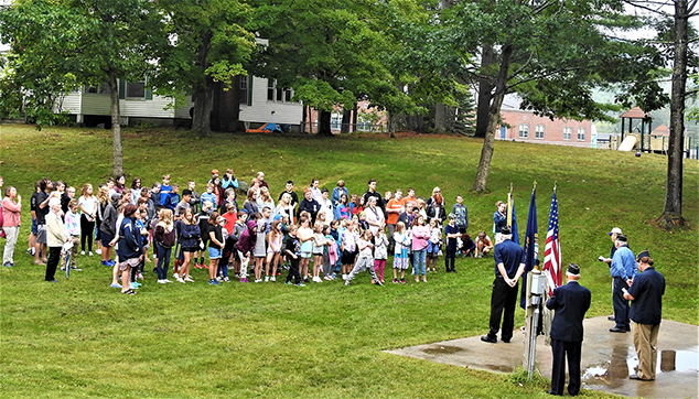 September 11 Memorial Ceremony Held at AE/MS