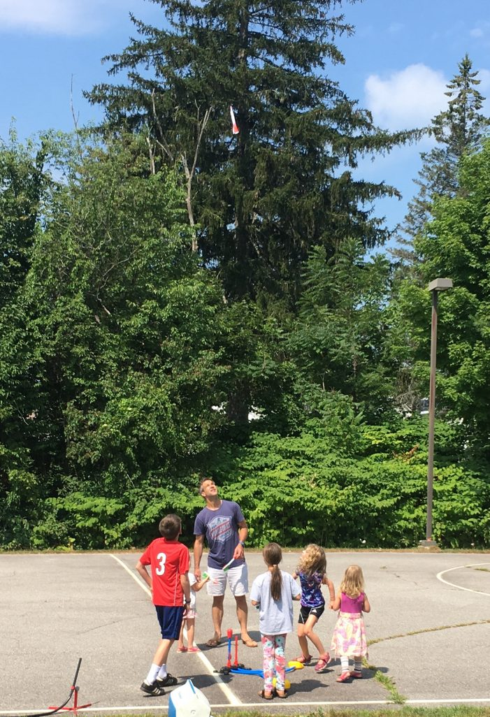 Summer Reading Program Rocket Launch