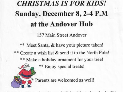 Hub Offers Christmas is for Kids! Event on December 8