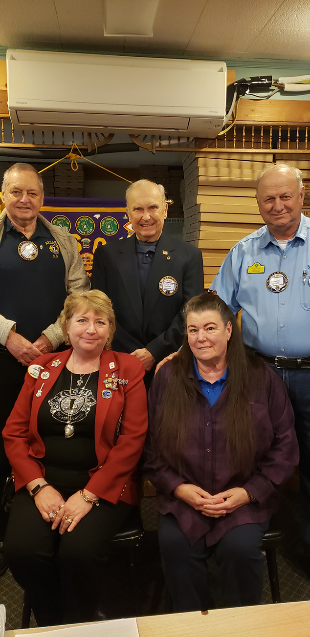 Andover Lions Receive Visit From District Governor