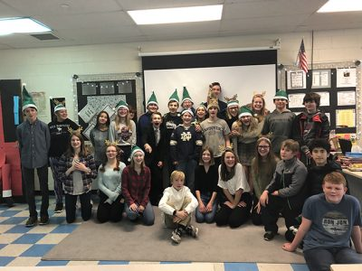 AE/MS Holds Annual Holiday Shoppe