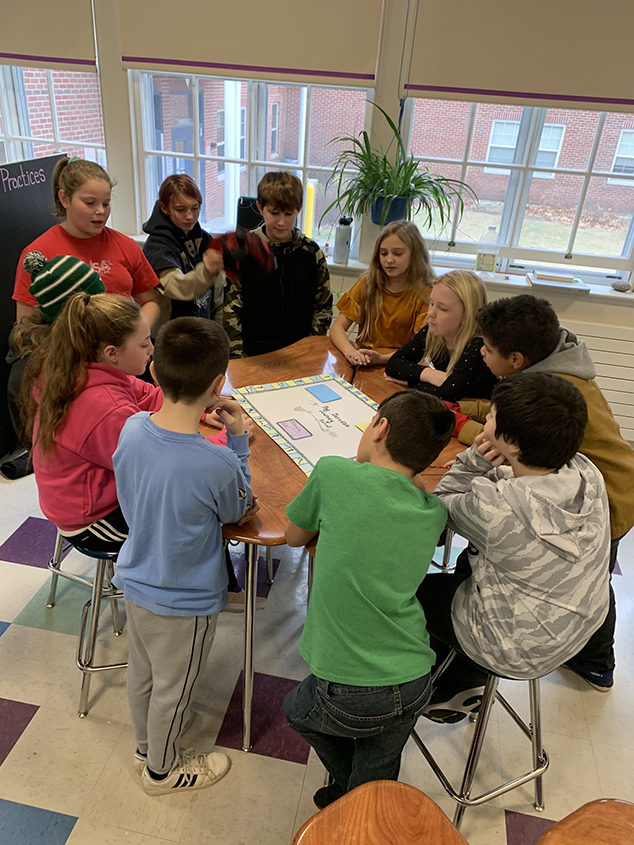Sixth Graders Read the Incredible Journey