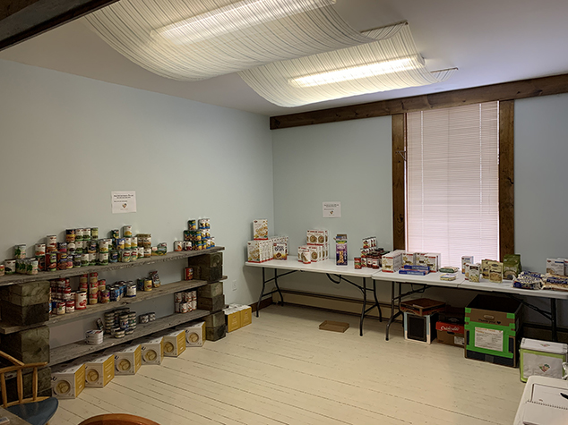 Food Pantry Returns to Andover
