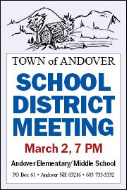 School District Meeting, March 2, 2020