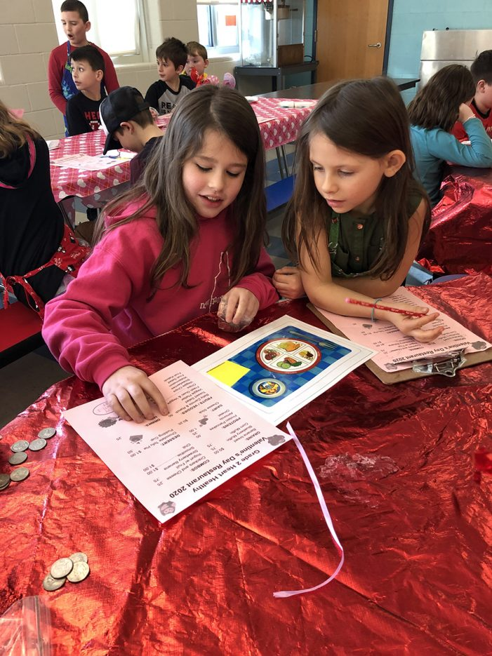 Second Graders Learn About Nutrition and Sharing